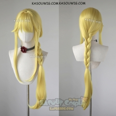 Sword Art Online Alicization Alice Zuberg 100 cm long yellow pre-styled braid cosplay wig