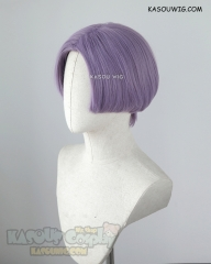 Dragon Ball Trunks short middle parted purple cosplay wig SP33