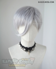 ( Glittering fiber mixed ) Houseki no Kuni Antarcticite light silver cosplay wig
