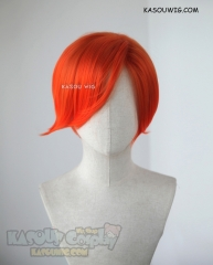 RWBY Roman Torchwick orange ombre short side-parted wig