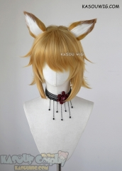 Sewayaki Kitsune no Senko san Senko short golden wig with ears