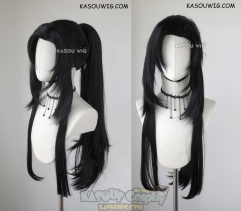 Grandmaster of Demonic Cultivation ( Mo Dao Zu Shi ) Wei Wuxian  85cm long black ponytail cosplay wig