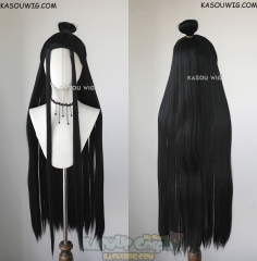 Grandmaster of Demonic Cultivation ( Mo Dao Zu Shi ) Lan Wangji Lan Zhan 100cm long straight cosplay wig