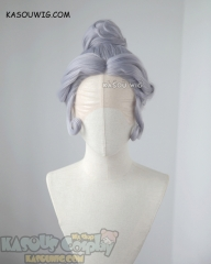 Lace Front >> Voltron Legendary Defender Princess Allura short twisted updo cosplay wig