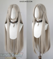 Fire Emblem Three Houses Edelgard 100cm long straight sand blonde cosplay wig