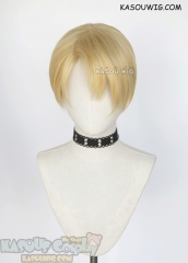 Fire Emblem Three Houses Dimitri Alexandre Blaiddyd short yellow blonde cosplay wig