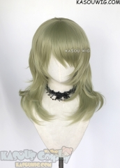 Fire Emblem Three Houses Byleth female green version 52cm cosplay wig