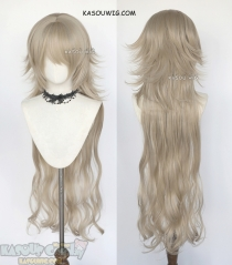 (clip-on long piece) Fate Grand Order FGO Jeanne d'Arc alter 110cm long blonde cosplay wig