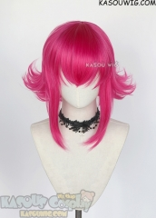League of Legends Annie hot pink flippy cosplay wig