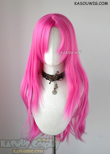 JOJO JoJo's Bizarre Adventure Diavolo pink long straight cosplay wig