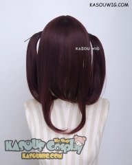 Discounted 【Five Colors】M-2 pigtails base wig with long bangs