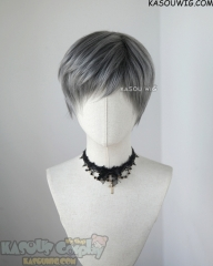 Feathered Pixie -♦ Charcoal Gray ♦
