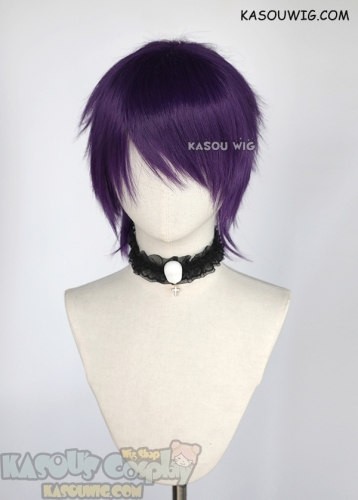 [Clearance Item] Short flippy purple wig SP37