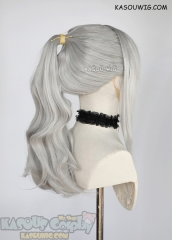 [Clearance Item] Strawberry Panic Shizuma Hanazono light gray wavy ponytail wig