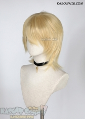 Fire Emblem Three Houses Dimitri ( 5 years later ) layered medium length wig