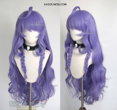 League of Legends Spirit Blossom Kindred 100cm long cool-toned purple wavy cosplay wig