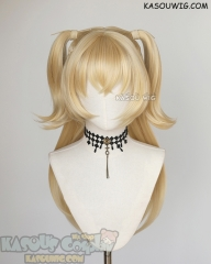 Genshin Impact Fischl 82cm long blonde twintail cosplay wig