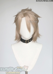 Genshin Impact pre-styled Albedo mixed ash blonde wig
