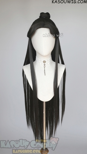 Tian Guan Ci Fu Heaven Official's Blessing Xie Lian pre-styled long black wig