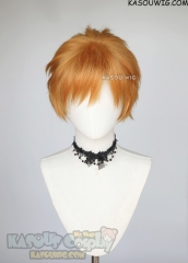 Naruto Pain/ Chainsaw Man Denji short orange wig