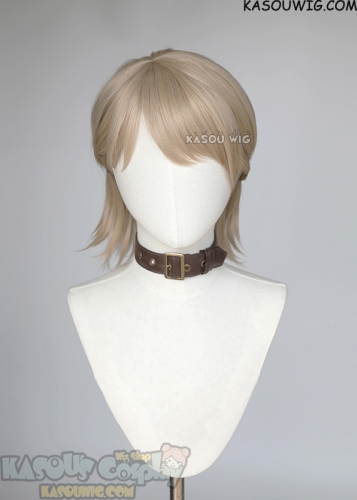 Attack on Titan S4 Jean Kirstein blonde brown undercut wig